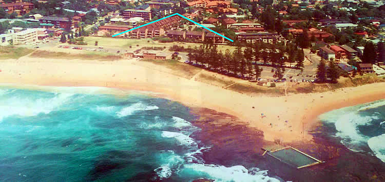 Reef Resort Apartments, Mona Vale Sydney Australia